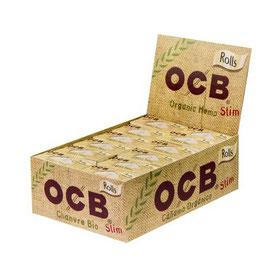 OCB Bio Slim Organic Hemp Rolls - Box