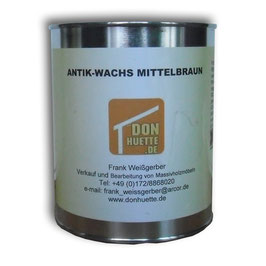 Antik-Wachs mittelbraun 370 ml - 5000 ml
