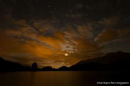 HAUTES ALPES, Lac de Siguret, Vue nocturne