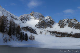 HAUTES ALPES, Ceillac, Lac Mirroir