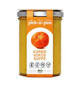 Kürbis Kokos Suppe