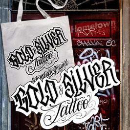 Gold & Silver Tattoo Tasche
