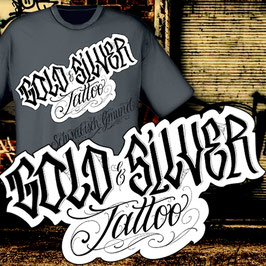 Gold & Silver Tattoo Shirt Newschool