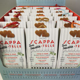 Biscotti SCAPPA-TELLE BIO confezione per 18 unità