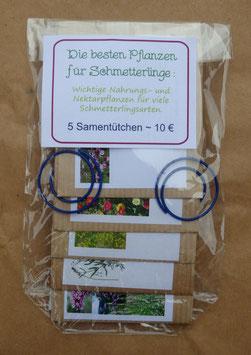 Samenpaket: Die besten Pflanzen für Schmetterlinge