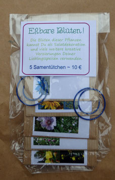 Samenpaket: Eßbare Blüten!