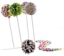 Moule 12 POP CAKE 3D SILICONE SUCETTES