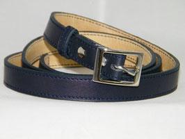ceinture fine bleu marine mod 2.0/bm2