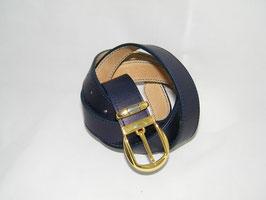 ceinture en cuir bleu marine mod 3.0/BM4