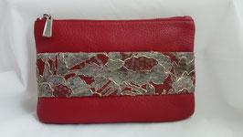 Pochette rouge Murielle Grand Modèle