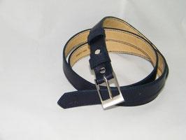 ceinture en cuir marine mod 2.5/BM1