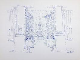 Illustration A3 La Cour de la reine