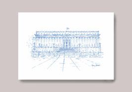 Carte postale Lyon Palais de Justice 24 colonnes