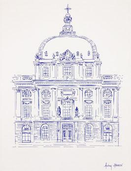 Illustration A3 Grand Hôtel Dieu Portrait