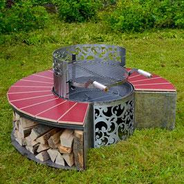 Feuerstelle Rondell