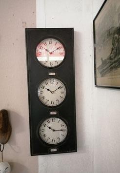 "Wand Uhr ""Global Times"" - XL"
