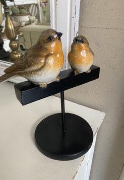 Vögel auf Ständer