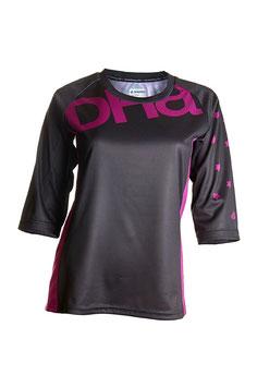 DHaRCO Trickot -  3/4 Sleeve Black Orchard - Grösse M