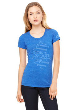 TRAIL-QUEEN Shirt - blau