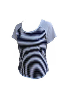 DHaRCO Shirt - Xtra Lite Tee -Navy Pin Stripe