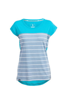 MonsRoyale Shirt - Womens Cap Tee Aqua