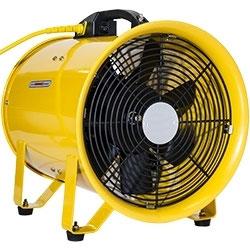 Ventilator | Axialventilator | Gebläse zur Bautrocknung | Baulüfter | inkl. 10 Meter Belüftungsschlauch | RTX 250 | 25€ Miete am Tag | Kostenfreier Hin- und Rückversand!