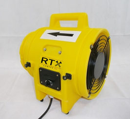 Ventilator | Axialventilator | Gebläse zur Bautrocknung | Baulüfter | inkl. 10 Meter Belüftungsschlauch | RTX 200 | 22€ Miete am Tag | Kostenfreier Hin- und Rückversand!