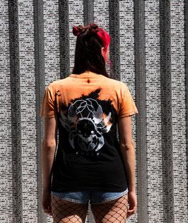"""T-shirt unique unisexe """"Orange et noir Cra(*)e"""""""