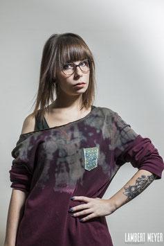 """Sweat-shirt unique femme """"Old memories"""""""