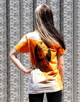 "T-shirt unique unisexe ""Orange Vision"""