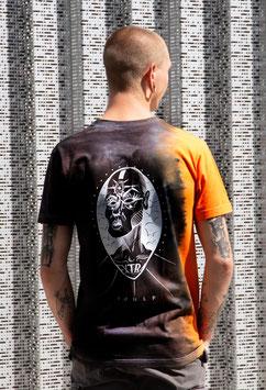 """T-shirt unique unisexe """"liseré orange vision"""""""