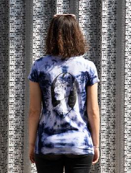 """T-shirt unique unisexe """"bleu vision"""""""