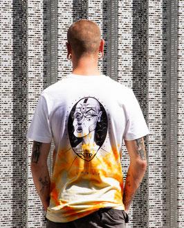 "T-shirt unique unisexe ""jaune vision"""