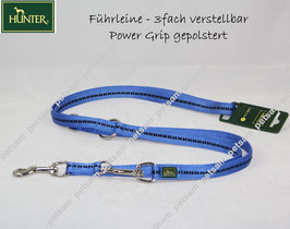 Hunter Power Grip Soft 200cm  3-fach BLAU - SPA