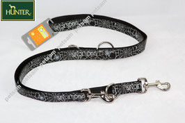 Hunter Leine Fancy Spider Spiderdog black 3fach 200cm - SPA