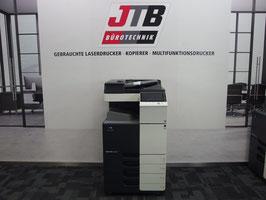 Konica Minolta Bizhub C224e Farblaserdrucker Kopierer Scanner Netzwerkdrucker Fax 4 Kassetten  A3 MFP 18.200 Seiten!