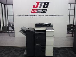 Konica Minolta Bizhub C554e Farbkopierer Netzwerk-Drucker Scanner Finisher!
