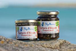 Tartare d'algues au Piment doux