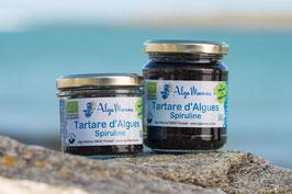 Tartare d'algues à la Spiruline bio