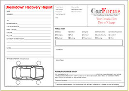 Recovery Forms