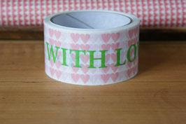 "PAKETKLEBEBAND ""WITH LOVE"""