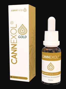 Cannexol Gold 15% CBD Hanf Aroma Öl das ohne Bitterstoffe