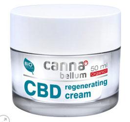 Cannabellum CBD regenerating cream 50ml, Gesichtscreme für die tägliche Pflege.