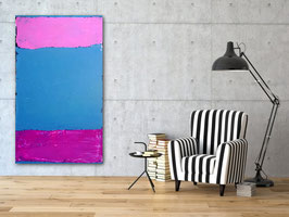 115 x 190 cm - Ausstellungsrahmen inclusive