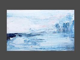 120 x 80 - blau weisses Bild - Neu im April