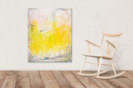 100 x 80 cm  beige weiss gelb