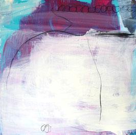 magenta lila Bild - Gemeinsam schaffen wir das