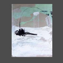 Serie - Sich seinen Freiraum angeln  (2) - weisses Bild