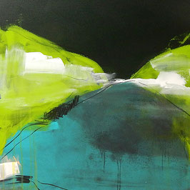 grünes Gemälde - Irgendwann