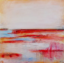 Seeseite - Landschaftsbild 60 x 60 cm